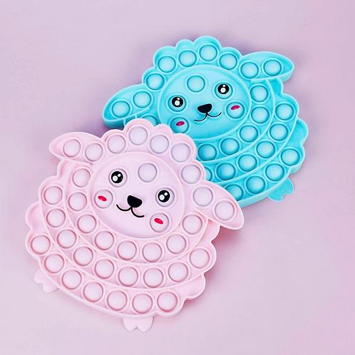 Sheep Push Button Bubble Pop It