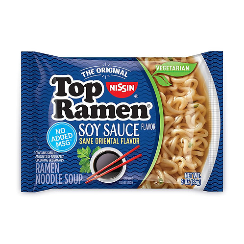 Nissin Top Ramen Soy Sauce