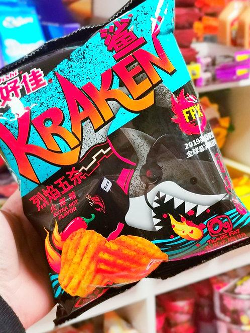 Oishi Kraken Potato Chip