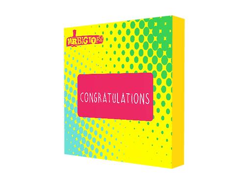 Congratulations Small Treat Box