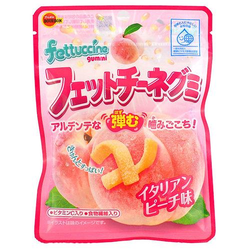 Fettucinni Gummy Candy Italian Peach