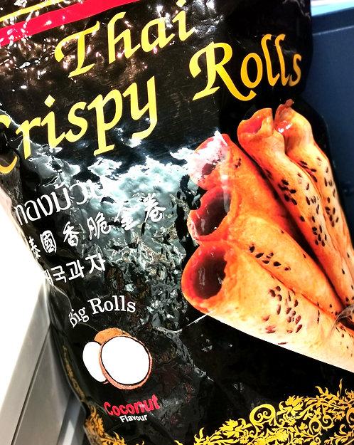 Coconut Flavoured Crispy Rolls