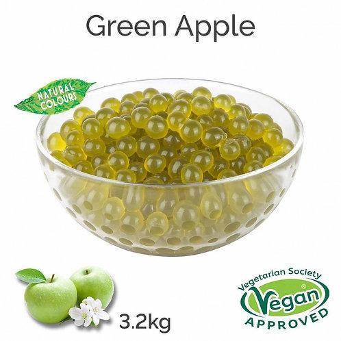 Green Apple Popping Boba Full 3kg Tub