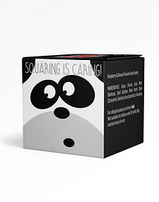 Panda Sharing Box, Foamy Mix