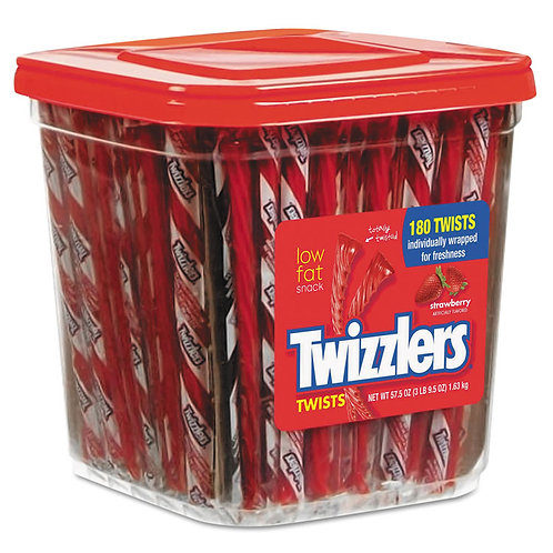 Individual Strawberry Twizzler (V, VE)