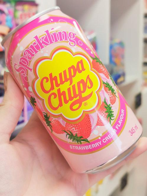 Chupa Chup Soda Strawberries & Cream
