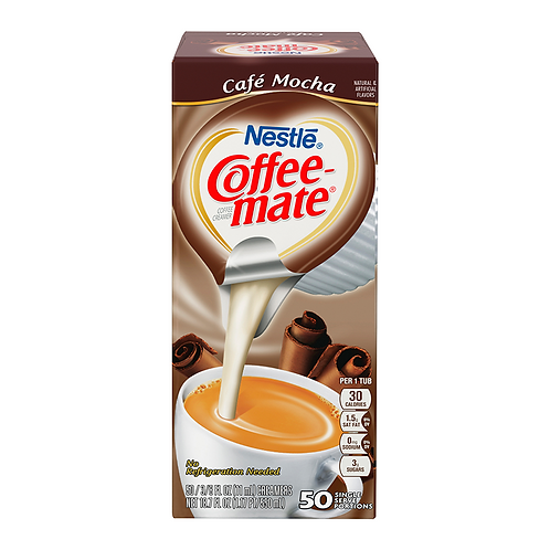 Coffeemate - Mocha Liquid Creamer 1x Single Serve Tub