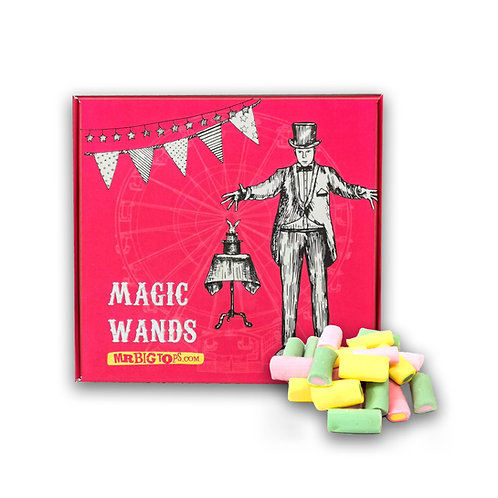 Circus Treats - Magic Wands (Rhubarb & Custards) 200g