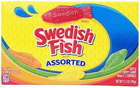 Swedish Fish Assorted Box (V, VE)