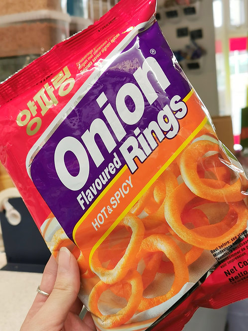 Hot Onion Rings