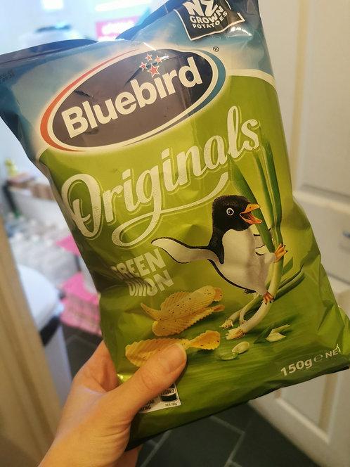 Bluebird Green onion crisps
