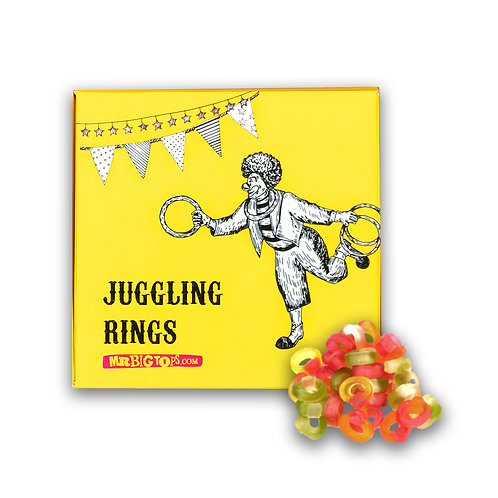 Circus Treats - Juggling Rings (Friendship Rings) 200g