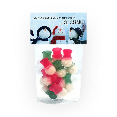 Gummy Snowmen Novelty Bag