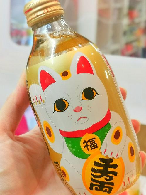 Lucky cat honey soda