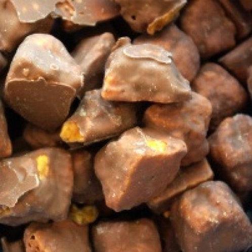Chocolate Cinder Toffee (GF, V)