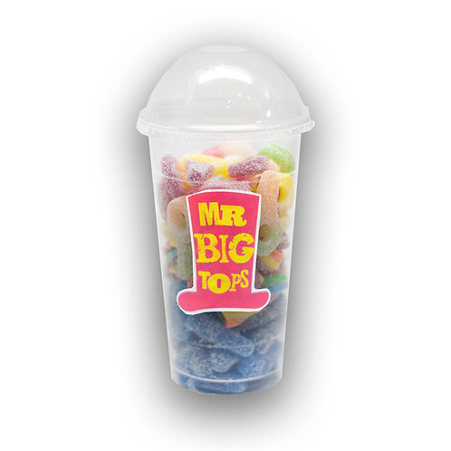 350ml Vegan All Fizzy Mix Cup