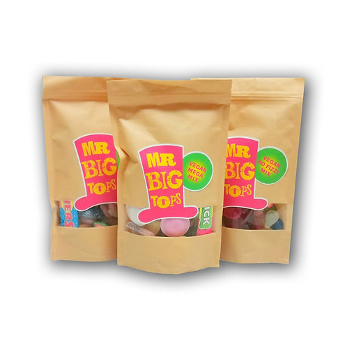 300g Vegan Mega Mix Grip Seal Bag