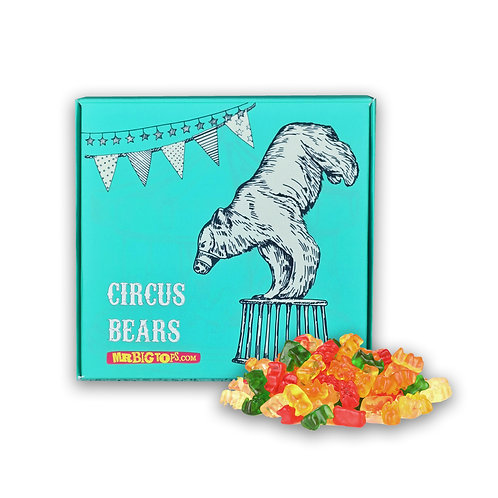Circus Treats - Circus Bears (Gummy Bears) 200g