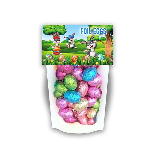 Easter Chocolate Foil Eggs (V)