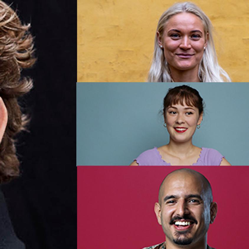 Pilou Asbæk Foredrag incl Eva Jin (Comedy Crew)
