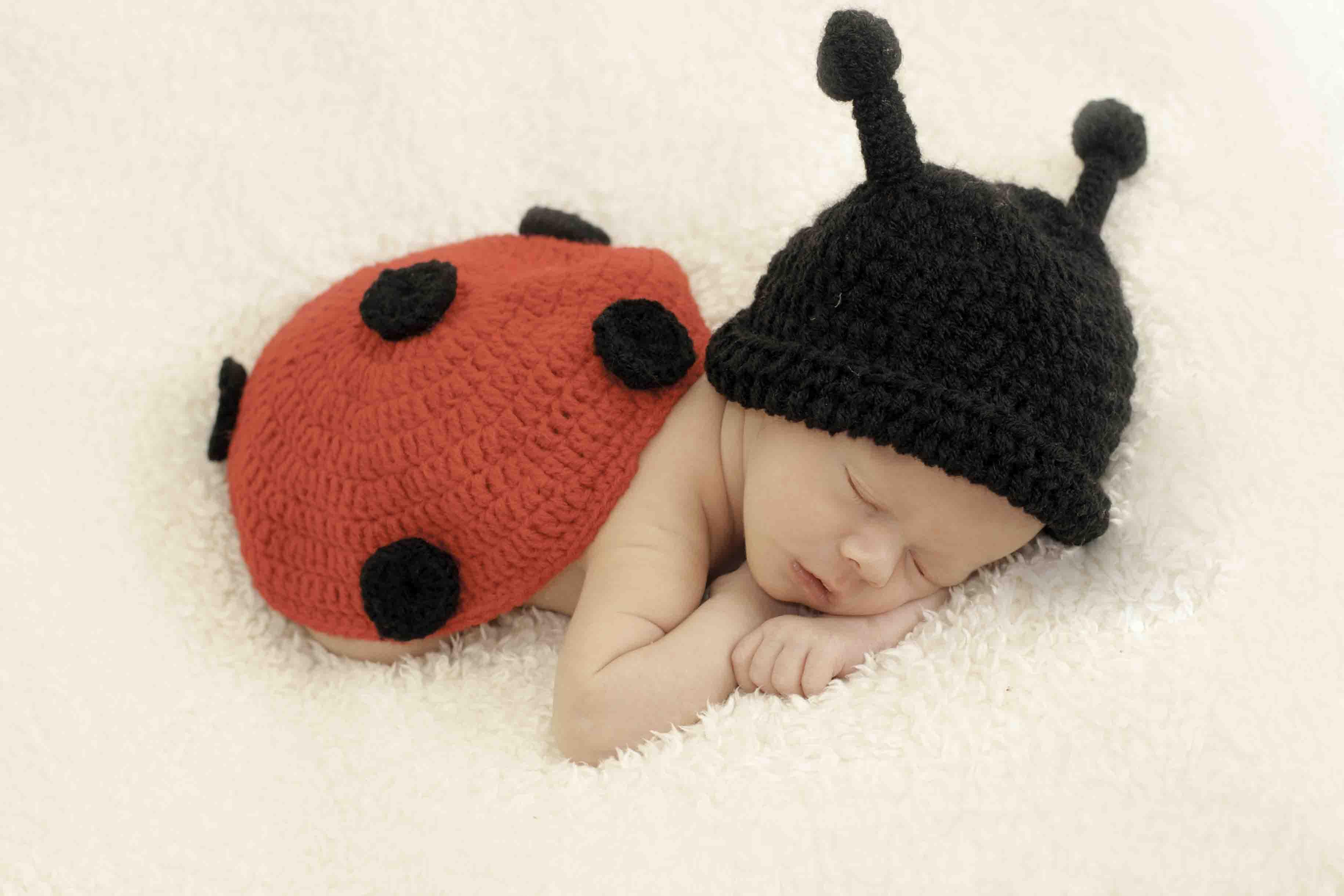 Newborn ladybird outfit