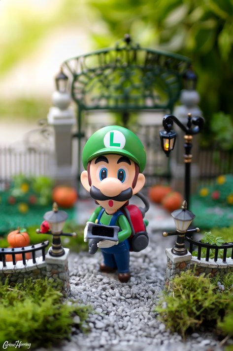Luigi's Mansion Gates