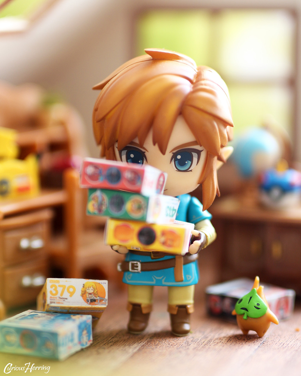 Nendoroid, Link, Breath of teh Wild, Toy Photography, Nendoroid Photography, Miniatures, Photography, Zelda, Legend of Zelda