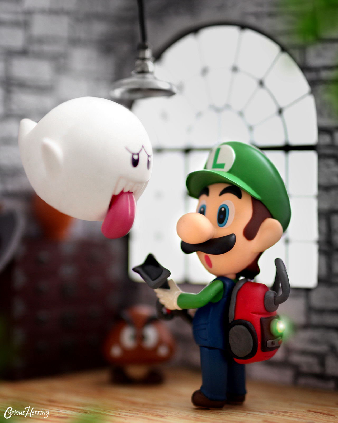 Super Mario Toy Photography Curious Herring