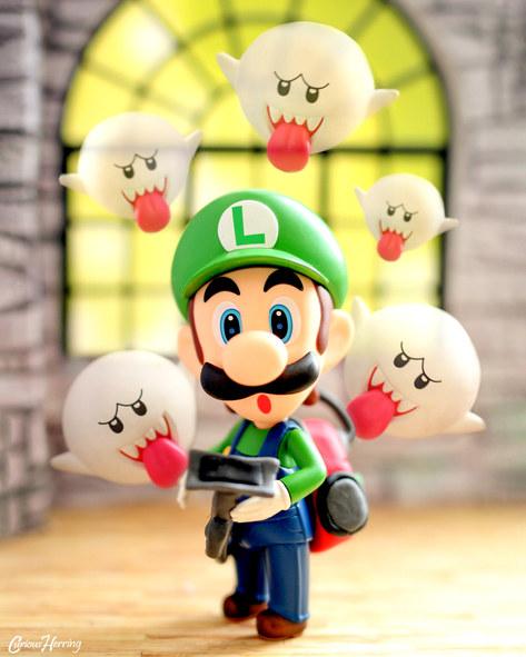 Luigi Ghost Hunter
