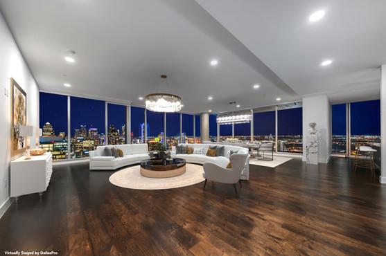 DallasPro - virtual staging - Bleu Ceil