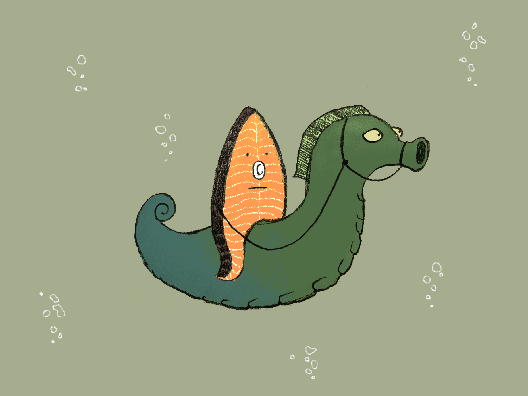 魚排騎士來了
