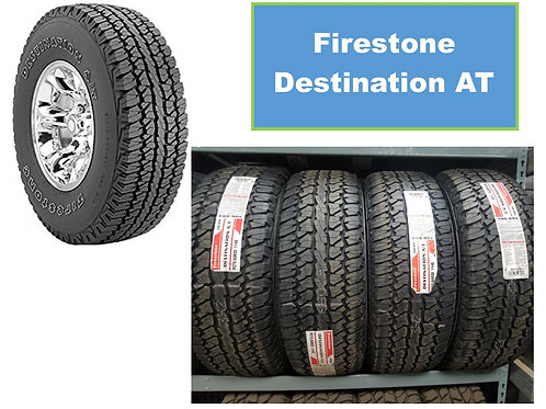Set of 4 - 265/70/18 NEW Firestone Tires