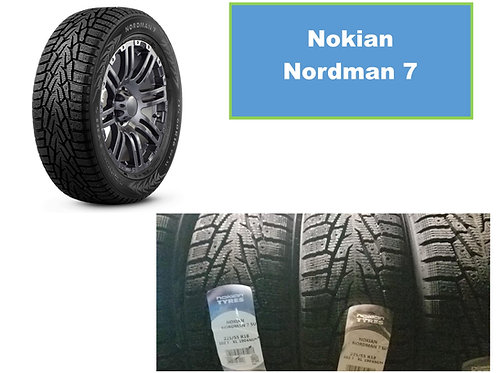 Set of 4 225/60/17 NEW Nokian SNOW Tires