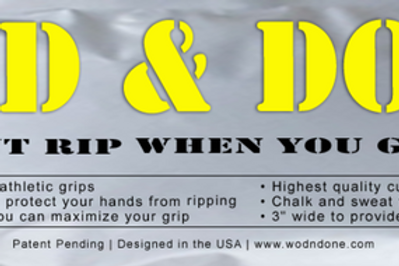 WOD & DONE hand grips