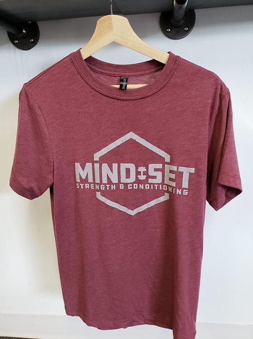 Mind-Set Maroon T-shirt