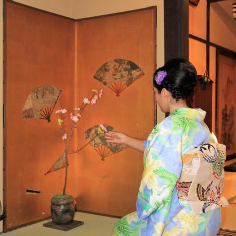 kimono and traditional decor