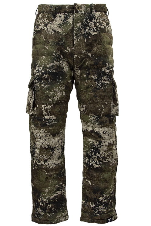 Item # 0111 Truesuede Down Pants in TrueTimber Strata Camo