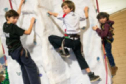 arrampicata bambini
