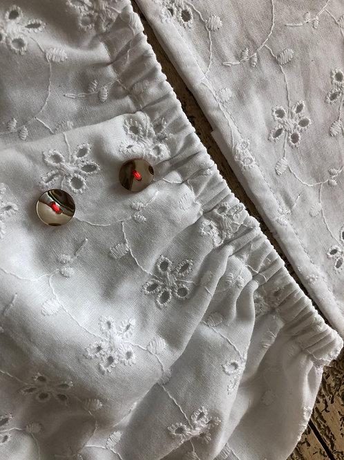 CADAQUES ★ culotte in cotone sangallo