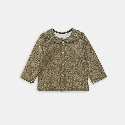 BOLOGNA ★ camicia fantasia in cotone Oxford