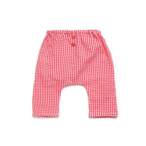 NEW YORK ★  pantalone in seersucker di cotone