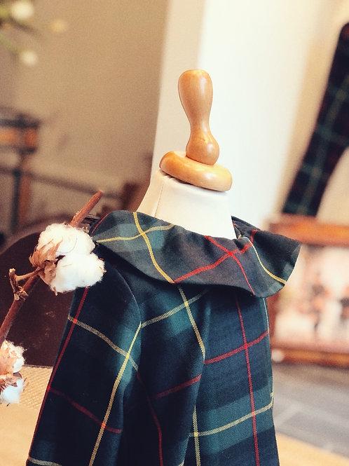 MILANO ★ vestito in lana scozzese