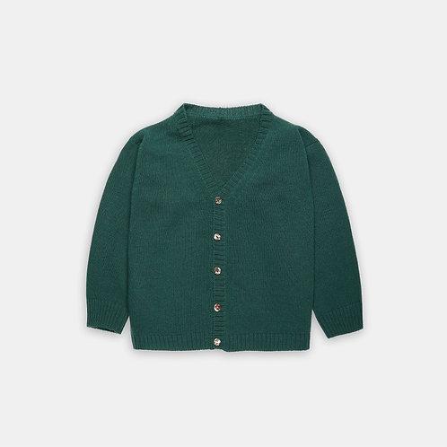 FORLì ★ cardigan scollo V in 100% lana merinos