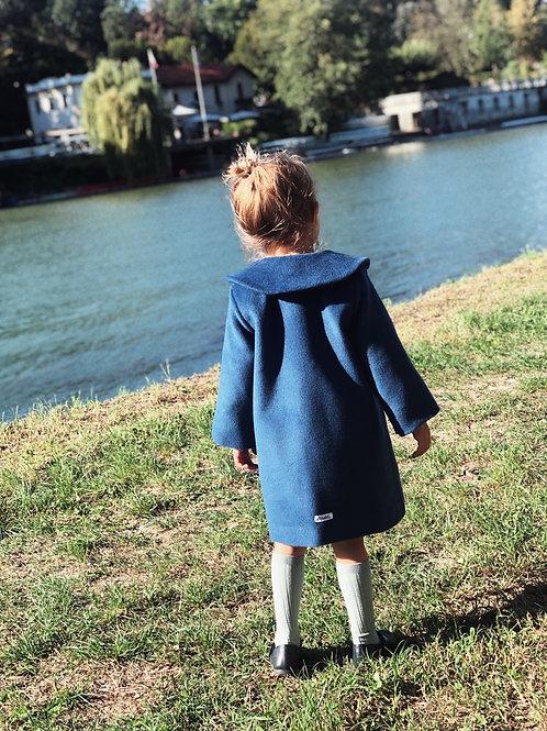 FERRARA ★ giacchetta in lana con colletto arrotondato