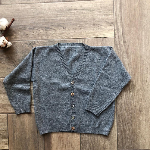 FORLì ★ cardigan scollo V in lana merinos