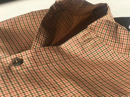 AMOS ★ camicia coreana in 100% seersucker di cotone