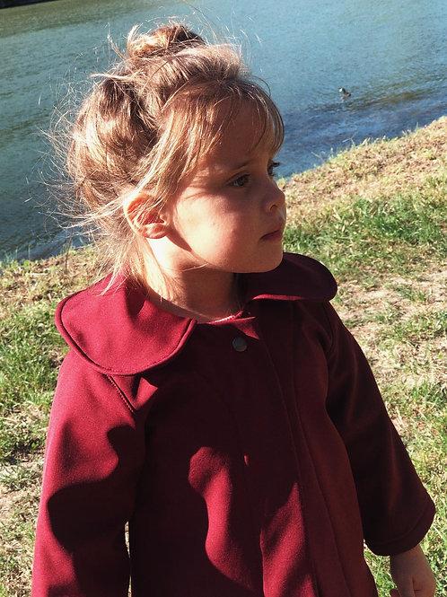 JACQUELINE ★ giacchetta con colletto arrotondato in neoprene di cotone