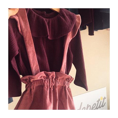 AIX-EN-PROVENCE ★ camicia in mussola di cotone