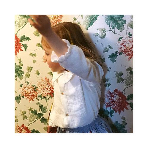 AIX-EN-PROVENCE ★ camicia in mussola di cotone ecologico