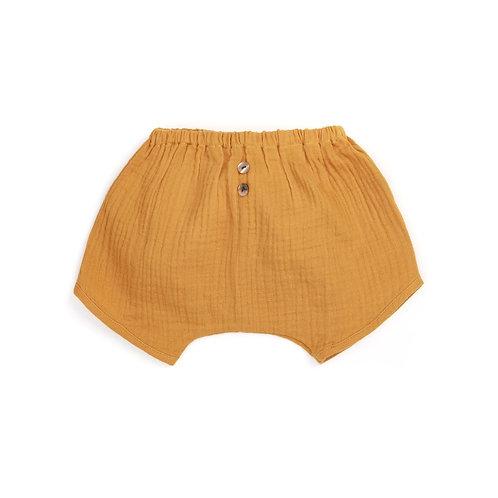 BRANDO-LUCIA ★ shorts in mussola di cotone ecologico unisex